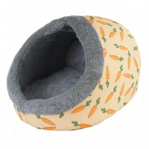 Rosewood Snuggles Plush Carrot Bed