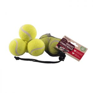 Rosewood Squeaky Tennis Balls – 3 Pack