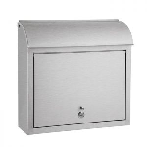 Round Top Wall Mounted Mailbox