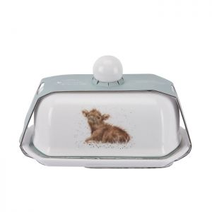 Royal Worcester Wrendale Butter Dish – Calf