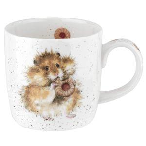 Royal Worcester Wrendale Mug – 'Diet Starts Tomorrow' Hamster