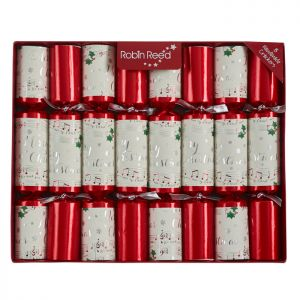 Robin Reed Concerto Jingle Bells Christmas Crackers – Pack of 8