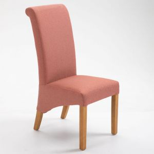 Ruby Dining Chair - Coral