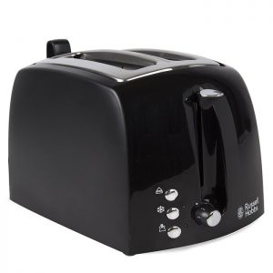 Russell Hobbs Textures 2 Slice Toaster - Black