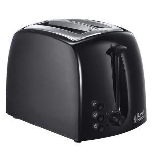 Russell Hobbs Textures 2 Slice Toaster – Black