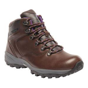Regatta Women's Bainsford Mid Walking Boots - Chestnut / Alpine Purple