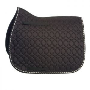 HySPEED Deluxe Saddle Pad with Cord Binding - Black