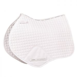 Weatherbeeta Prime Jump Saddle Pad - White