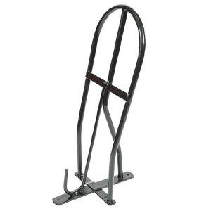 Shires Saddle Rack - Black