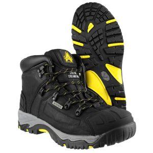 Amblers FS32 Waterproof Safety Boots – Black