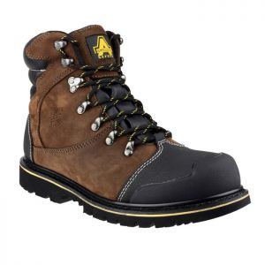 Amblers FS227 Welted Safety Boots – Brown