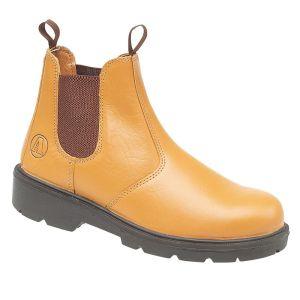 Amblers FS115 Safety Dealer Boot – Tan