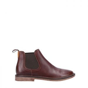 Hush Puppies Men's Shaun Leather Chelsea Boots – Brown