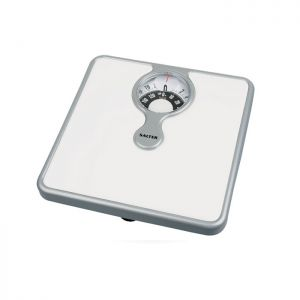 Salter Compact Magnifying Lens Mechanical Bathroom Scale