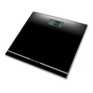 Salter Large Display Electronic Bathroom Scale - Black