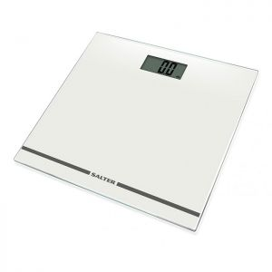 Salter Large Display Electronic Bathroom Scale - White