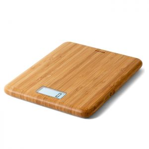 Salter Eco Bamboo Rechargeable Digital Kitchen Scales