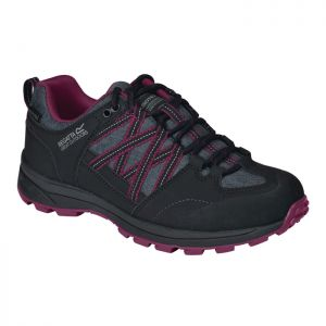 Regatta Women's Samaris II Low Walking Boots – Black/Purple