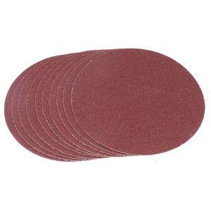 Tactix Pack of 10 Sanding Discs - 125mm