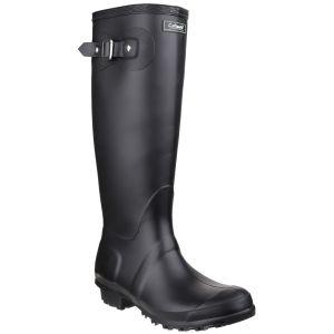 Cotswold Sandringham Wellington Boots - Black
