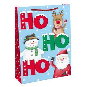 Santa 'Ho Ho Ho' Gift Bag