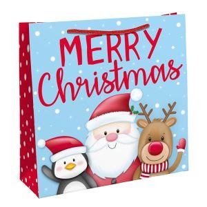 Santa 'Merry Christmas' Gift Bag