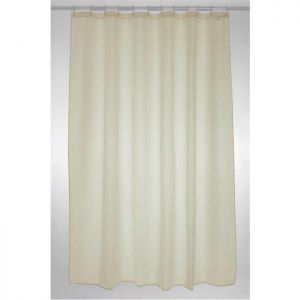 Blue Canyon Polyester Shower Curtain - Cream