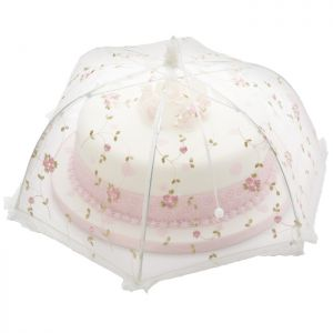 Sweetly Does It Umbrella Cake Cover - Vintage Rose, 35cm