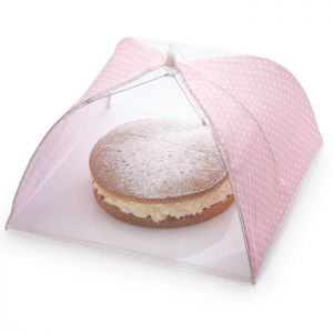 Sweetly Does It Umbrella Cake Cover - Pink Polka Dot, 42cm