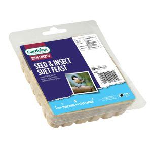Gardman Seed & Insect Suet Feast - 300g
