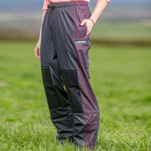 Kaiwaka Agtex Lady of the Land Women's Overtrousers - Navy/Aubergine
