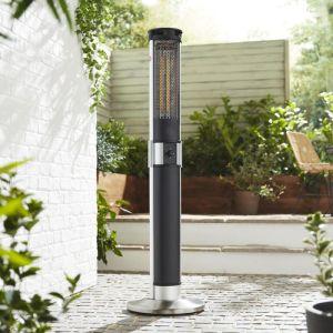 Swan Column Patio Heater - 2000W