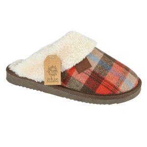 Jo & Joe Women's Shetland Slippers - Brown