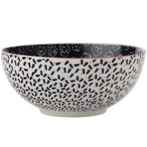 Maxwell & Williams Boho Bowl, 12.5cm - Shibori Navy