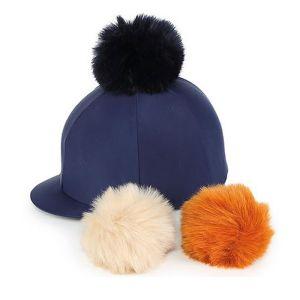 Shires Switch It Pom Pom Hat Cover - Navy