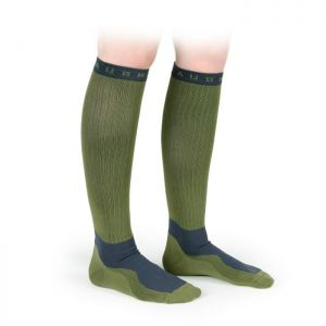 Shires Aubrion Perivale Compression Socks - Olive