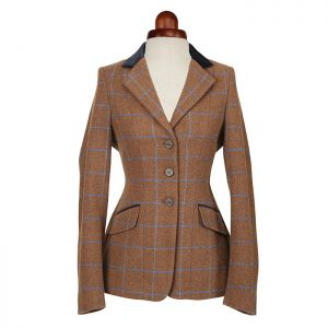 Shires Children's Aubrion Saratoga Jacket - Brown Tweed