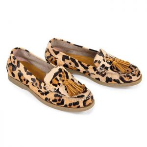 Shires Moretta Women's Alita Loafer Shoes – Leopard