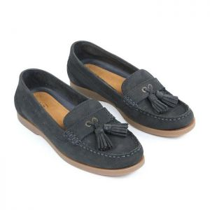 Shires Moretta Women's Alita Loafer Shoes – Navy
