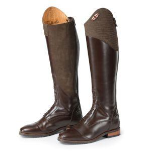 Shires Moretta Women's Gabriella Riding Boots, Wide Fit – Brown