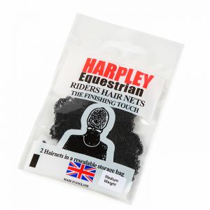 Shires Pack of 2 Harpley Hair Nets – Black