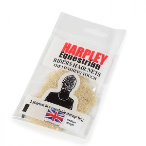 Shires Pack of 2 Harpley Hair Nets – Blonde