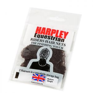Shires Pack of 2 Harpley Hair Nets – Dark Brown
