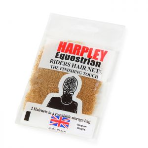 Shires Pack of 2 Harpley Hair Nets – Light Brown
