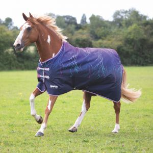 Shires Tempest Original Lite Turnout Rug – Purple Lightening