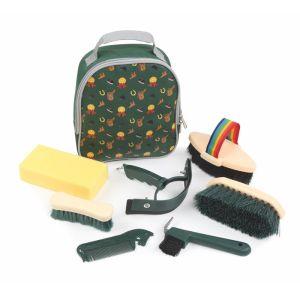 Shires Tikaboo Children's Grooming Kit - Green
