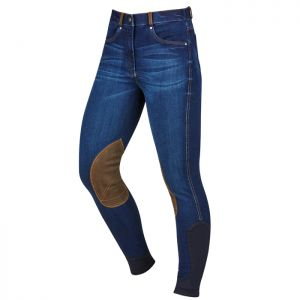 Dublin Shona Denim Breeches - Blue Denim