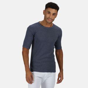 Regatta Men's Short Sleeve Thermal Vest - Denim
