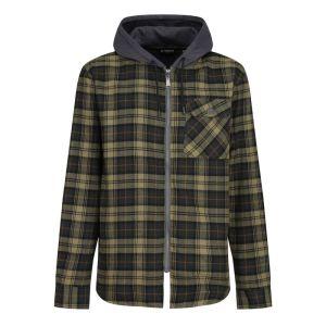 Regatta Men's Tactical Siege Shirt Jacket - Dark Khaki Check