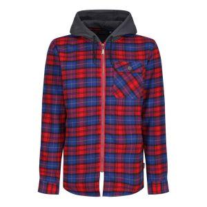 Regatta Men's Tactical Siege Shirt Jacket - Red Check